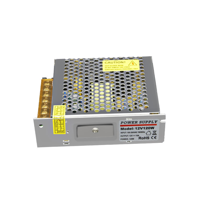 120W 12V 10A Power Switch For Electronic Equipment Lighting Equipment Security Monitoring