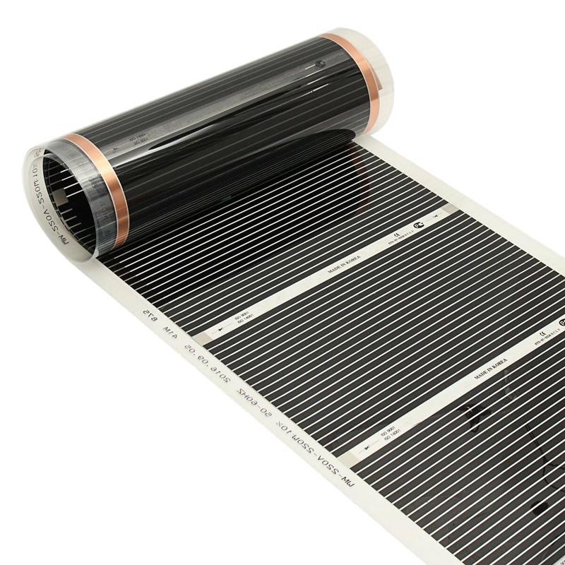 Hot Infrared Heating Floor 2M-50CM Infrared Heating Foil Infrared Heating Rug