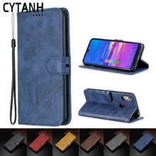 Leather Flip Case for Huawei P2