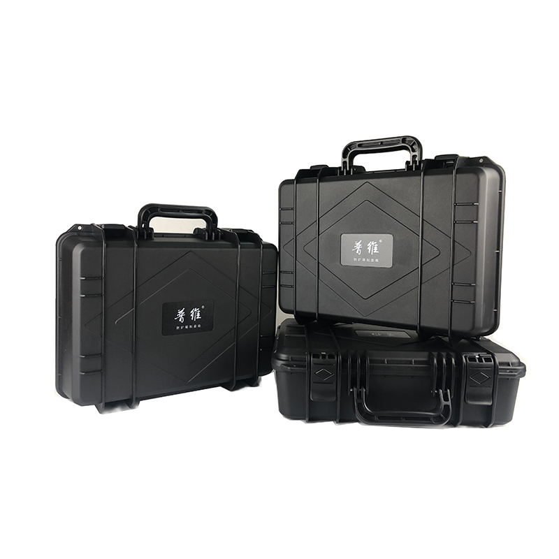 1PC 520x340x173mm Safety Case ABS Plastic Tool Box Outdoor Dry Box Sealed Equipment Storage Outdoor Tool Container No Foam