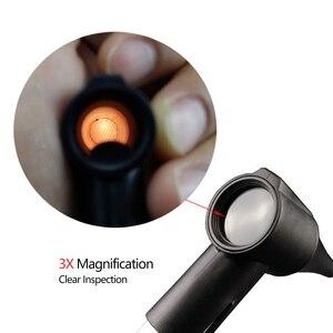 Image 2 - منظار الأذن الطبي منظار العين منظار الفم مجموعة الأذن الحلق عدة أدوات السريرية التشخيص PenLight مكبرة القلم المعدات