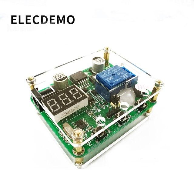 CNC modulo relè di temporizzazione del Suono e la luce di allarme 0 ~ 999S temporizzazione Accoppiatore Ottico isolamento 6 ~ 36V di alimentazione di alimentazione