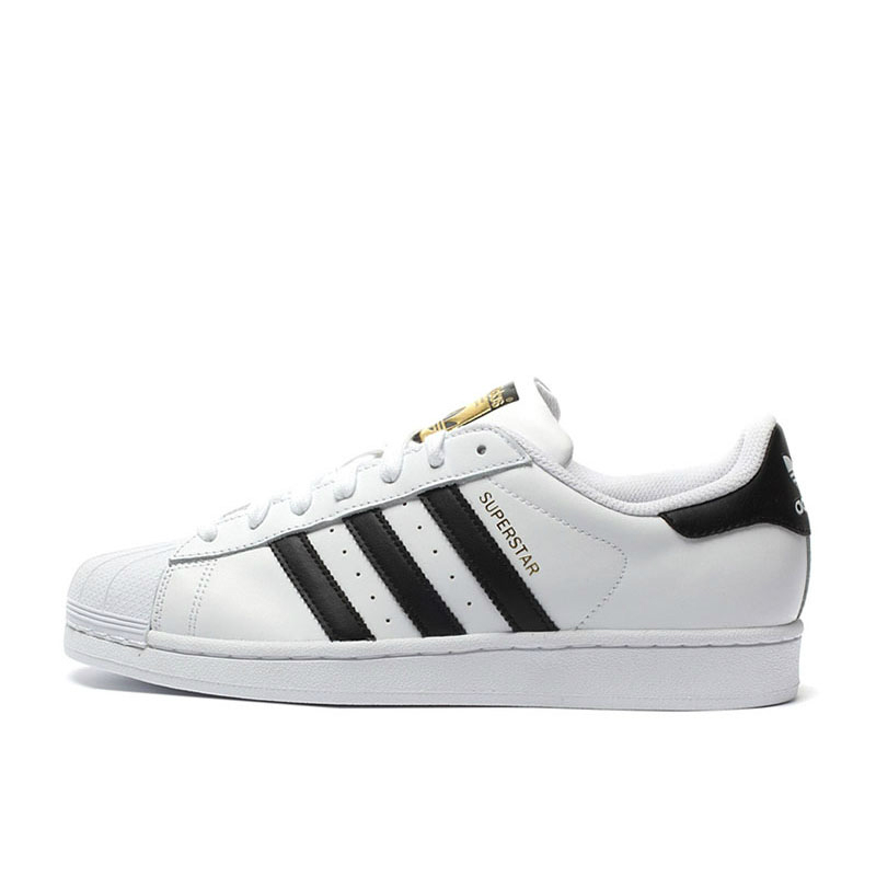 Original Adidas Superstar Skateboarding Shoes Women Men Shoes Sport Skate Sneakers Low Top Designer C77124 Unisex Hot Sell image