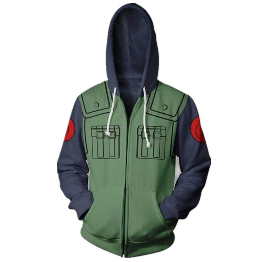 Anime <font><b>3D</b></font> Print Naruto Cosplay <font><b>Hoodies</b></font> Sweatshirts <font><b>Unisex</b></font> Hoody Tracksuits Men Women Autumn Casual Zipper hooded Jacket clothing image