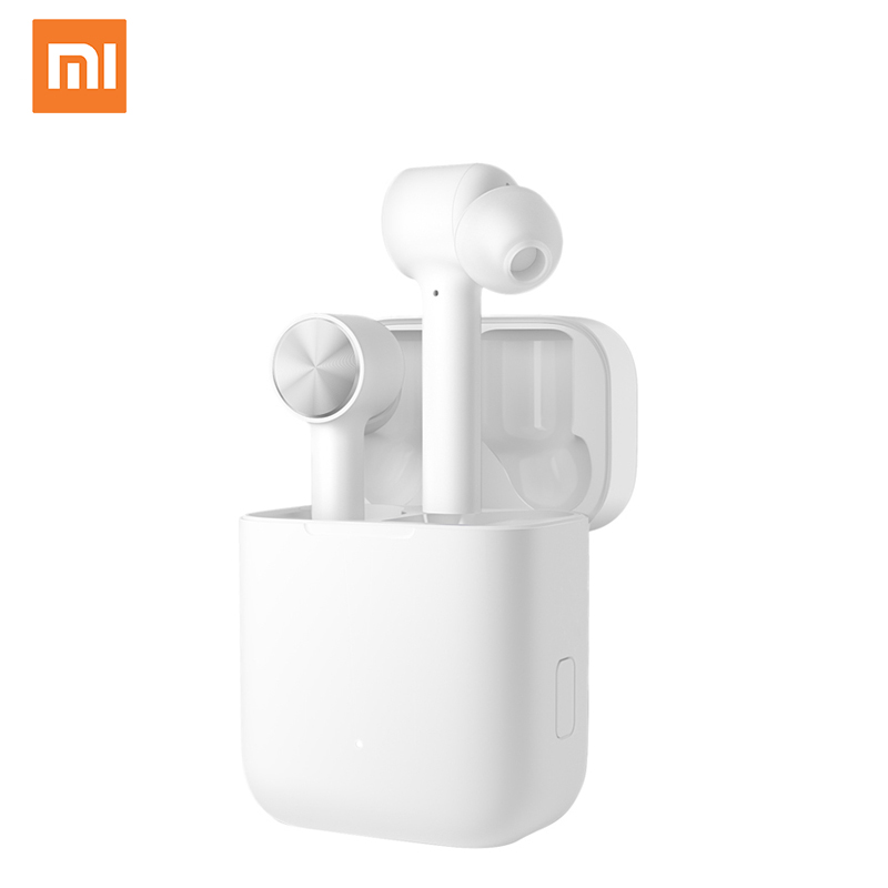 Оригинальные беспроводные наушники Xiaomi Mi True, TWS, Bluetooth 5,0, наушники-вкладыши Air Lite, стерео, AAC, с сенсорным управлением, двойным микрофоном, ENC