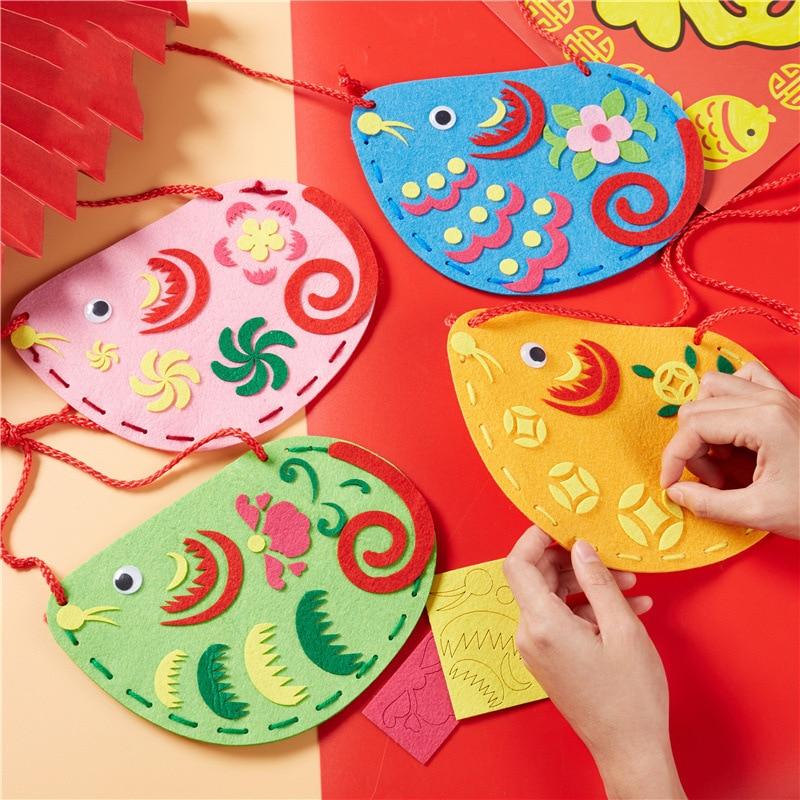 Women Bag Sewing Crafts Kids Children's Toys Kindergarten Diy Learning Education Crafts Kids Toys For Girls Toys For Children 03