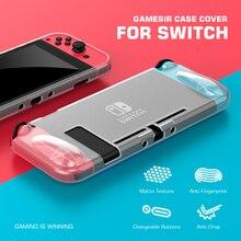 GameSir Case Cover Joy Con Shell for Nintendo Switch Joy Con Controller, Matte Texture, Anti fingerprint, ENGP202