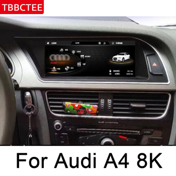 For Audi A4 8K 2008~2016 MMI Car Audio Multimedia player Android GPS Navigation map WiFi 3G 4G Bluetooth 1080P HD bluetooth автомобильный компьютер greenyi 1024 600 android 4 4 audi a4 1 6g 1g ram dvd gps wifi 3g