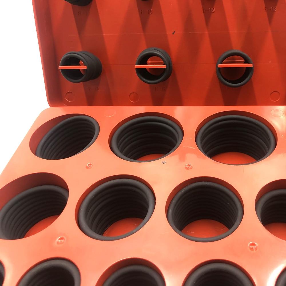 OSK™ Standard O-Ring Kit Buna-N Nitrile 70 Duro Black 382pc 30 Sizes