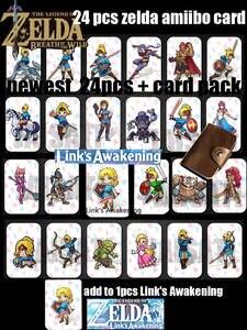 Card-Link Awakening Zelda-Breath Wild Diablo Ntag215 Splatoon 2 Super-Odyssey for The