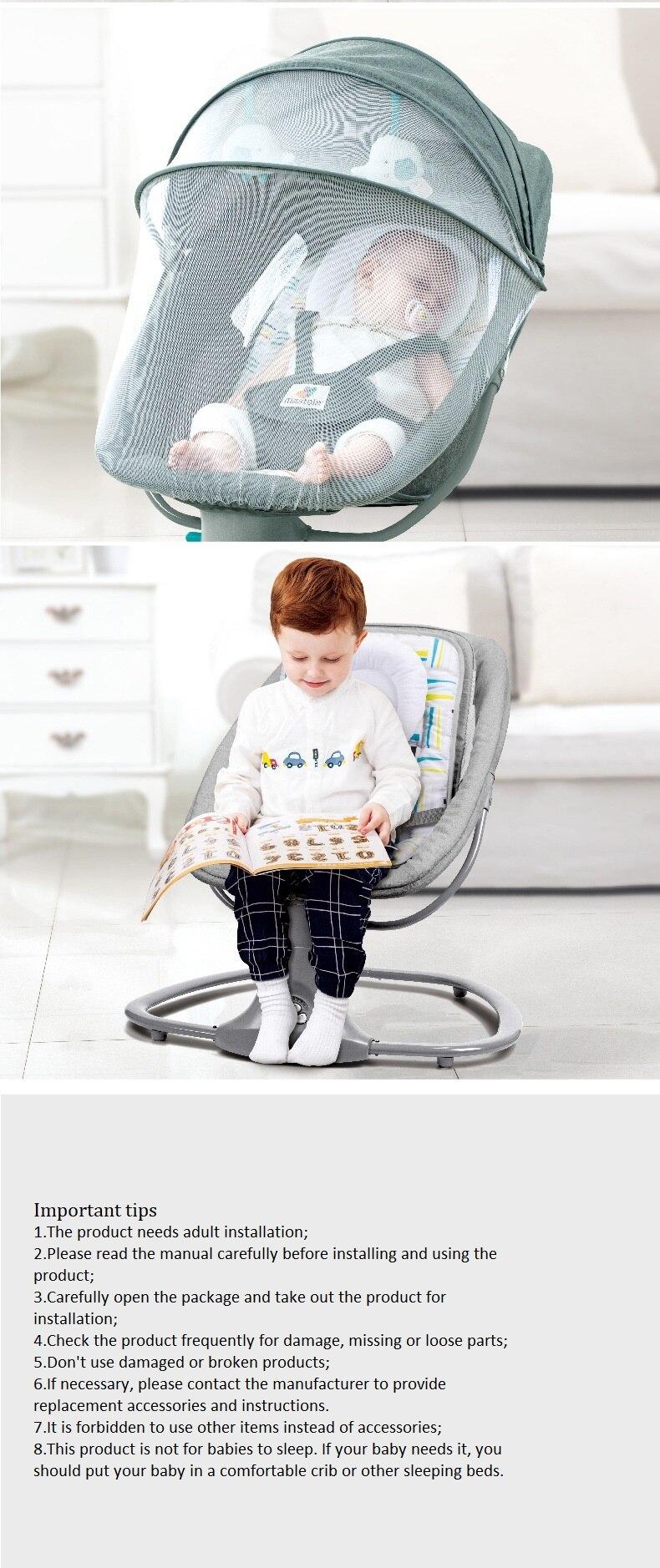 Newborns-Sleeping-Cradle-Bed-Child-comfort-chair-reclining-chair 14