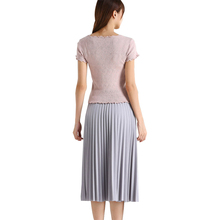 SALSPOR Fashion Women Skirt Pleated Solid High Waist Slim Elastic Skirts Woman Student Party Skirt Pink Mujer Fadas 5 Color fashion beautiful slim wrapped skirt for women deep pink