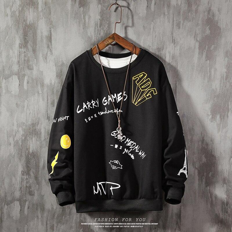 Brand Men Sweatshirt MVP Print Sportswear Plus Size Sweatshirt Male Streetwear Pullover Men Hoodies & Sweatshirts