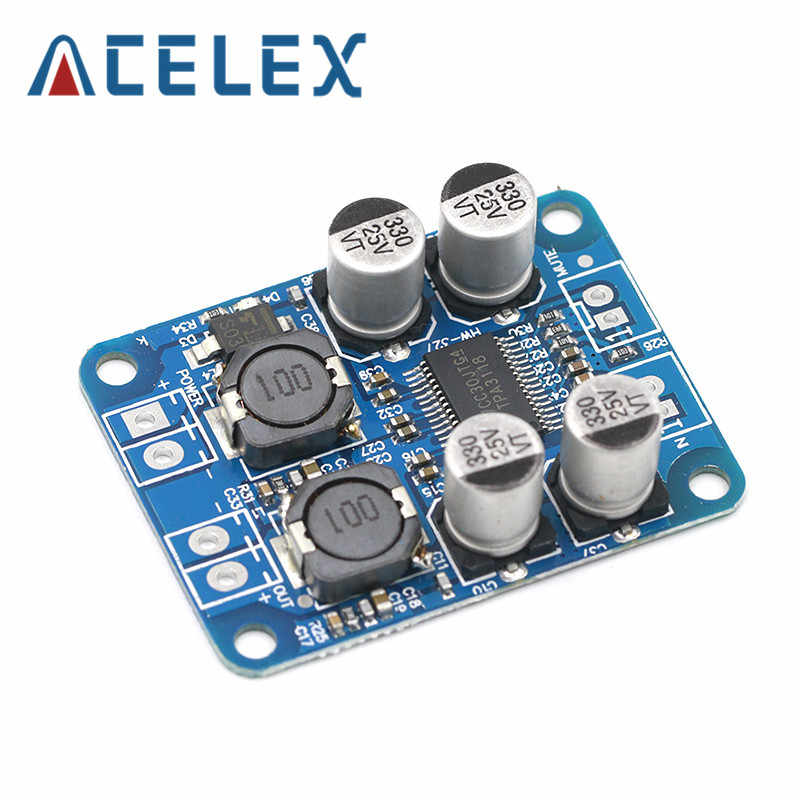 DC8-24V TPA3118 Pbtl 60W Mono Digital Audio Amplifier Papan Amp Modul Chip 1X60W 4-8 Ohm Mengganti TPA3110 UNTUK ARDUINO