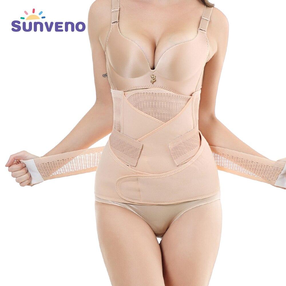 3in1 Belly/Abdomen/Pelvis Postpartum Belt Body Recovery Shapewear Belly Slim Waist Cinchers Breathable Waist Trainer Corset