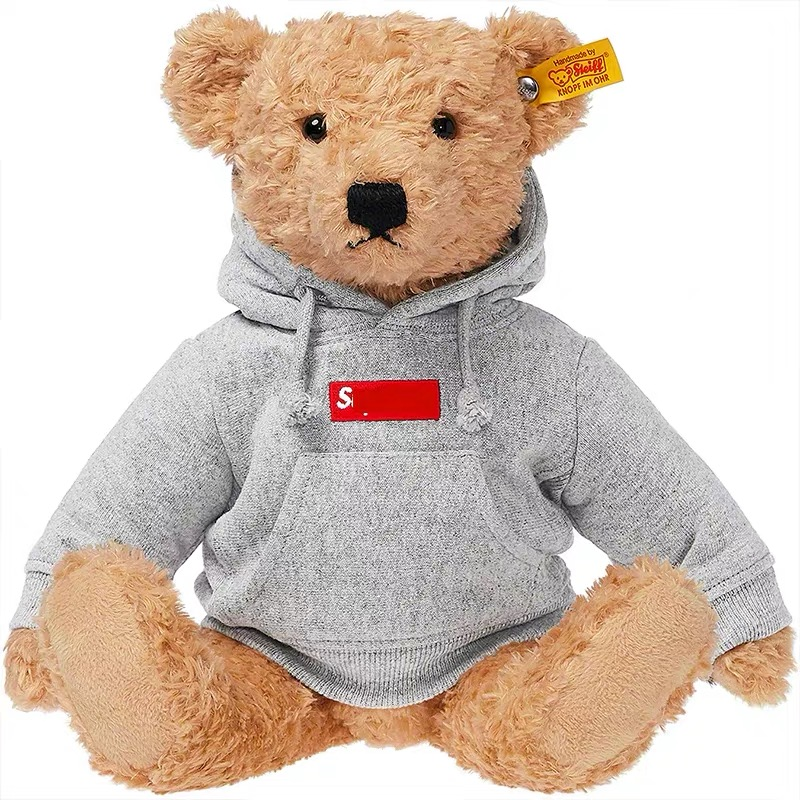 32cm New Bear With Cloth Plush Toys Dolls Stuffed Toy Kids Baby Childreen Girl Birthday Christmas Gift