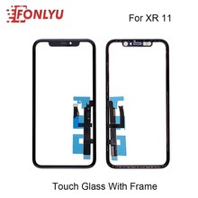 Digitizer Touch-Panel-Frame Outer-Glass-Replacement iPhone Lcd-Screen Flex-Cable