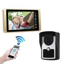 Wifi+wired video doobell camera intercom doorphone home security system waterproof IR night vision camera стоимость
