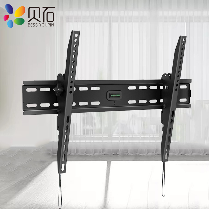 Tilt TV Wall Bracket Mount LCD Monitor Stand Holder for 32-65'' Flat Screen TVs with VESA to 400*600mm Loading Capacity 88lbs(China)