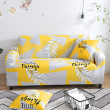 Nordic Universal Elastic Sofa Cover Spandex Strech Sofa Couch Slipcovers Yellow L Shaped Sectional Corner Sofa Covers Couch Coat sofa cover fabric thick sectional sofa towel universal sofa cover l shape slipcovers couch sofa furniture protectors dec