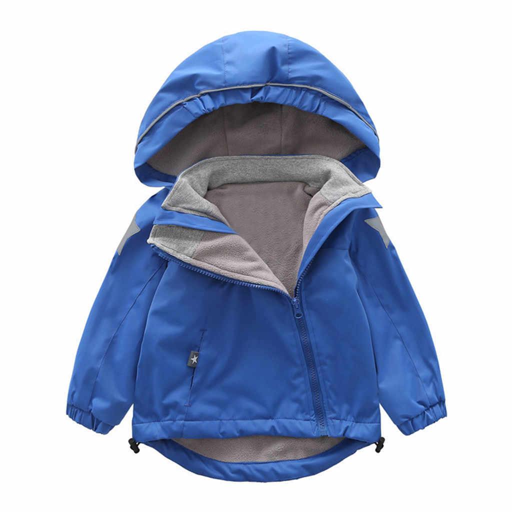 TELOTUNY 2019 ילדים בגדי בני מעילי ילדי ברדס רוכסן מעיל רוח תינוק אופנה הדפסת מעיל תינוקות נים עבור בנות 925