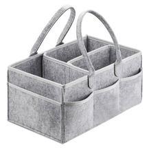 Фетровая сумка для хранения, тонкий дизайн, модная и простая Складная мягкая детская Пеленка, корзина для хранения игрушек, автомобильный Органайзер