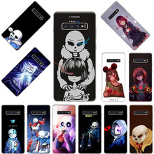 Undertale cute Sans sad Mode Silicone Soft phone case for Samsung Galaxy S20 Ultra S10