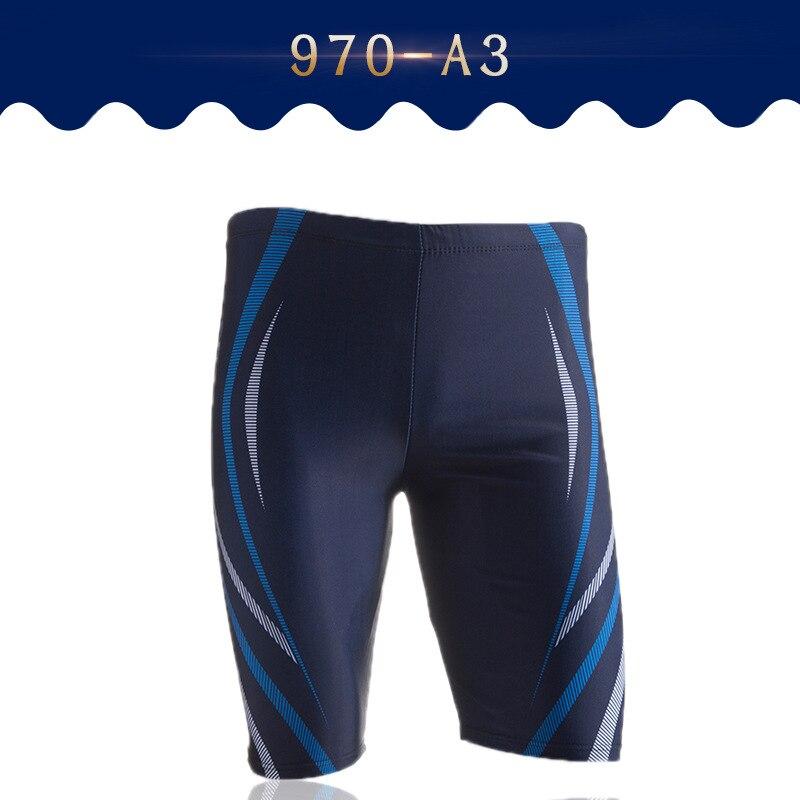 MEN'S Swimming Trunks Short Profession Long Knee-Length Boxer Adult Bathing Suit Men's Quick-Dry Hot Springs Seaside Swimwear