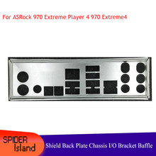 New Original I/O Shield back plate Chassis bracket of motherboard for ASRock 970 Extreme3 R2.0 Shield Backplane Back Plane(China)