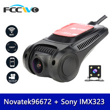 Fccwo F3 Dash Cam Novatek96672 Sony IMX323 Wifi 1080P Mobil DVR Registrator Perekam Video Kamera Dashcam DVR DASH kamera(China)