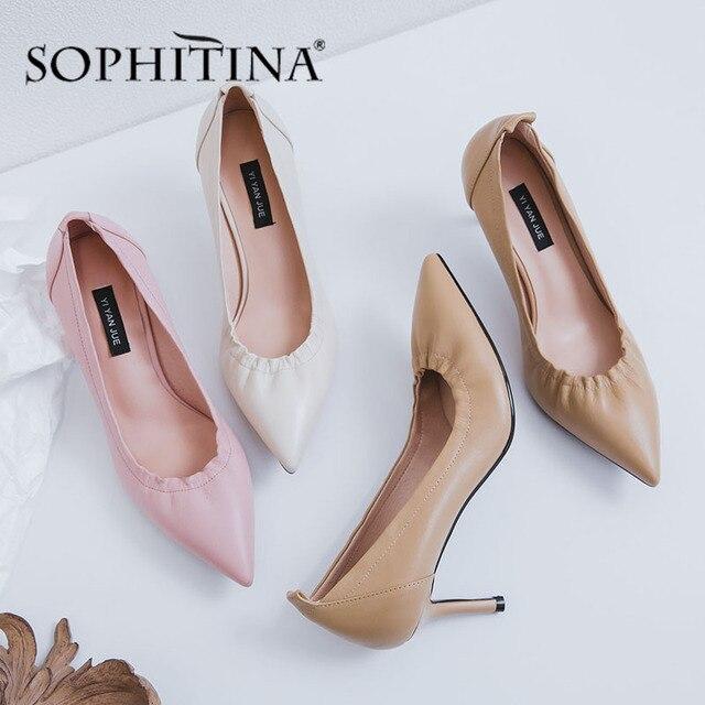 Фото sophitina/офисные женские туфли лодочки удобная обувь без шнуровки