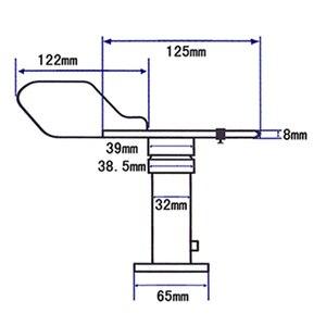 Image 5 - مستشعر اتجاه الرياح 485 مقياس اتجاه الرياح 16 جهاز إرسال اتجاه الرياح السمت 4 20mA ريشة الرياح عالية الدقة