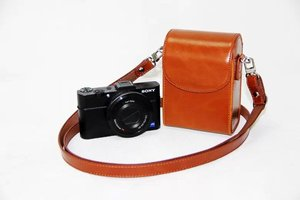 Image 2 - Vintage PU Leather Camera Case For Canon G9X G7X G7X Mark II G7XII G7X III SX730 SX700 SX720 S90 SX260 SX240 SX275 S90 S120 S110