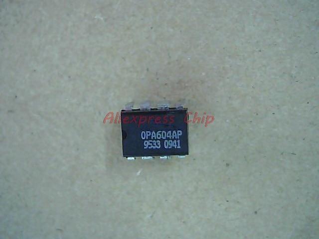 1pcs/lot OPA604AP OPA604 DIP-8 DIP FET-Input, Low Distortion OPERATIONAL AMPLIFIER OPA604A New Original In Stock