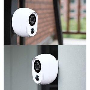 Image 4 - Wouwon 100% sans fil inclus batterie IP caméra extérieure sans fil résistant aux intempéries sécurité WiFi caméra CCTV alarme photo iCSee APP