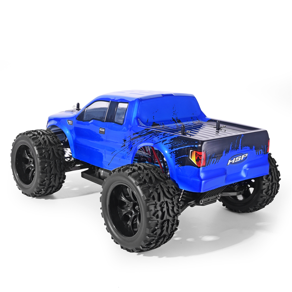 Image 3 - HSP RC Car 1/10 Scale 4wd Off Road Monster Truck 94111 Electric Power 4x4 vehicle Toys High Speed Hobby Remote Control CarRC Cars   -
