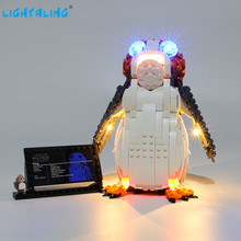 Lightaling Led Light Kit For Star War Porg Building Blocks Compatible With 75230 ( Lighting Set Only ) lightaling led light set for famous brand 10182 15002 make