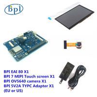 Banana PI BPI EAI 80 Board +7 Inch Touch Screen + OV5640 Camera Module+ Adapter Kit