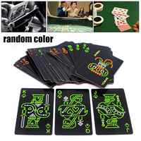 Luminous Playing Card Glow In The Dark Bar Party KTV Night Luminous Collection Special Poker Party Supplies