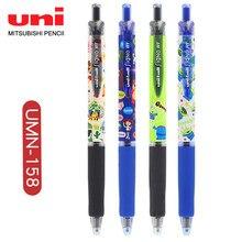 Stylo Gel lisse UNI UMN-158DS, 0.38mm, 1 pièce, noir, dessin animé, neutre, pour étudiants, japon