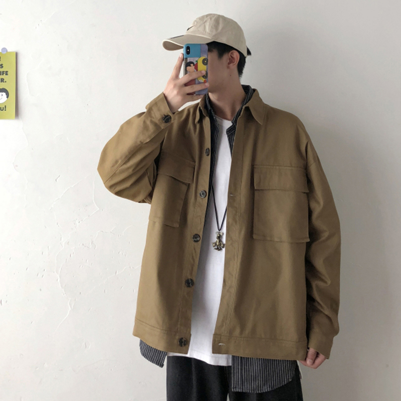 Privathinker Men Spring Black Casual Jackets 2020 Mens Hip Hop Fashion Loose Jacket Clothes Male Street-style Coats Oversized