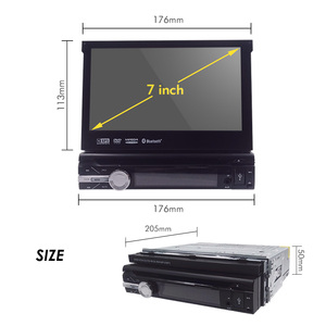 Image 2 - 32G ROM 2G RAM 4G Android 9.0 Auto Radio Quad Core 7Inch 1DIN Universal Car DVD player GPS Stereo Audio Head unit DAB DVR OBD BT
