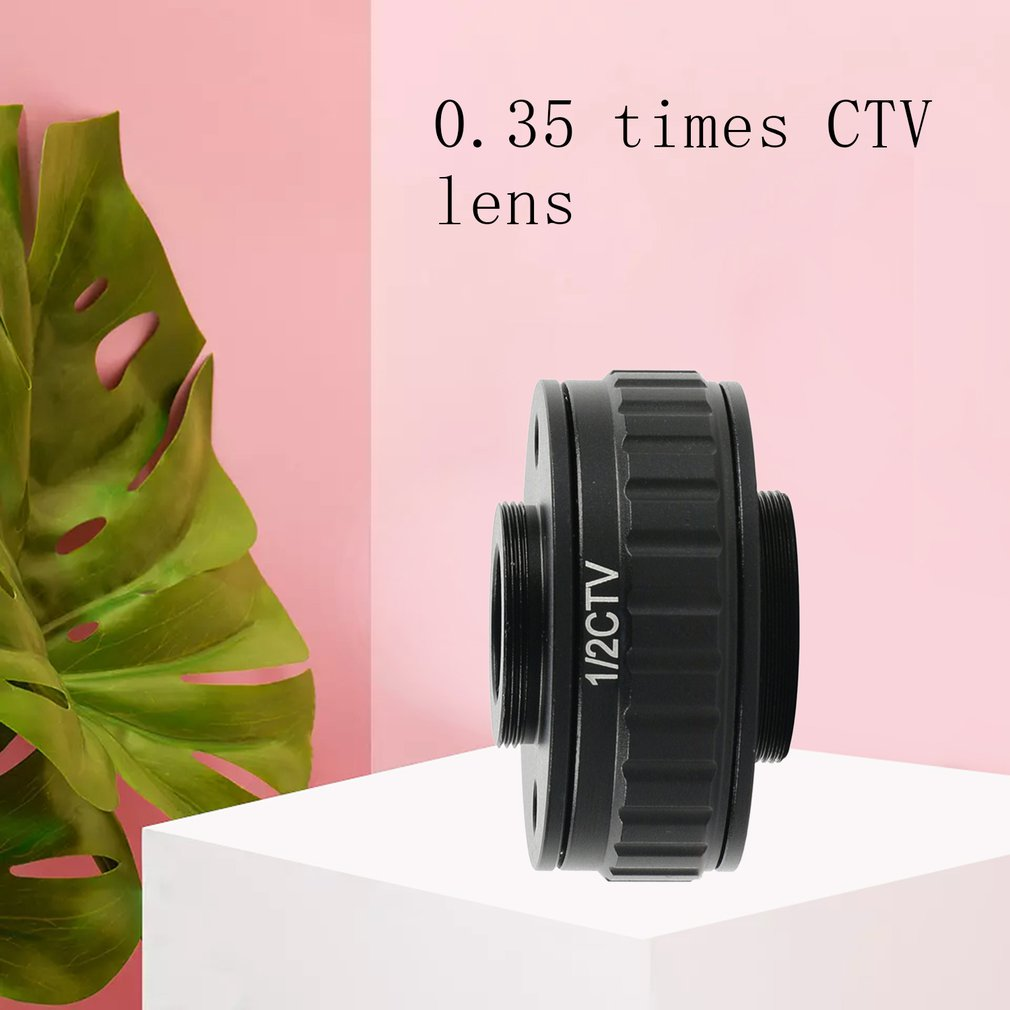 0.35x Simul focal c-mount objectif CTV 0.35 adaptateur pour trinoculaire stéréo microscope vidéo caméra c-mount adaptateur lentille