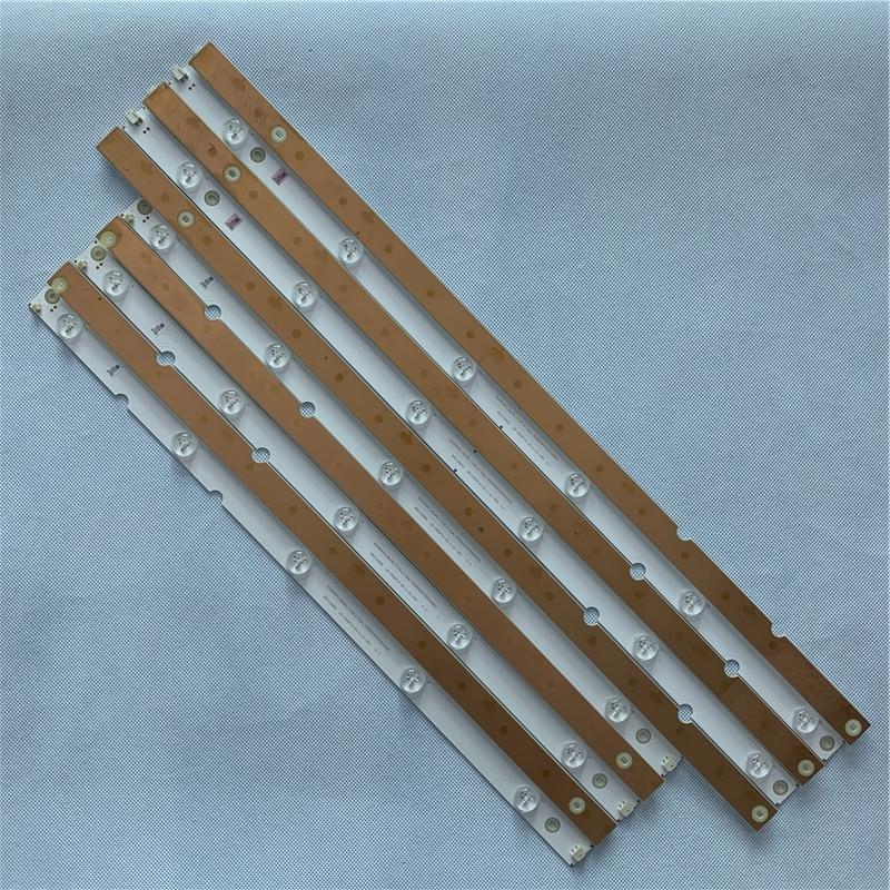 1102mm LED Backlight Strip For Philips 55 INCH SVJ550AH1_REV00_11LED_L/R_Type_150206(MYCH55D2000) LB-C550F14-E5-R/L-G1-SR1