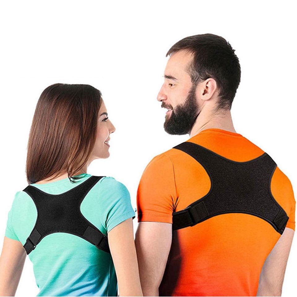 Back Posture Corrector Brace Corset Back Clavicle Straightener Spine Support Belt For Upper Back Shoulder Support Bandage