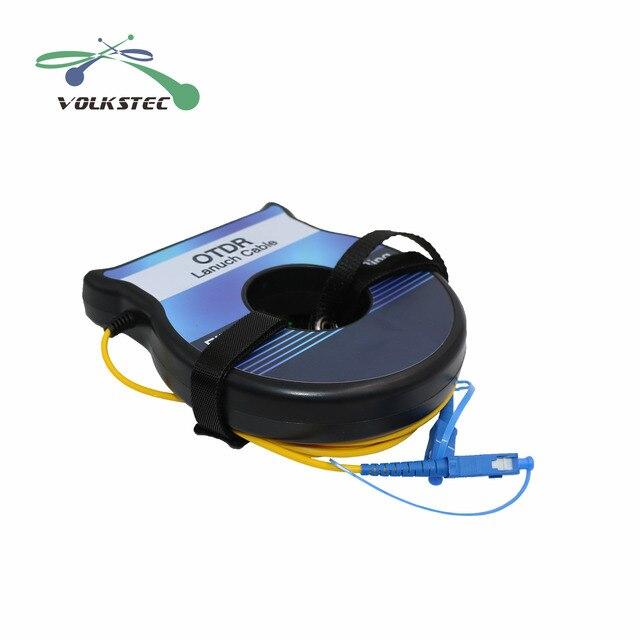 2020 OTDR boîte de câble de lancement de fibres 1km SM 9/125 μm testeur de fibres OTDR anneaux de fibres MM62.5/125μm livraison gratuite