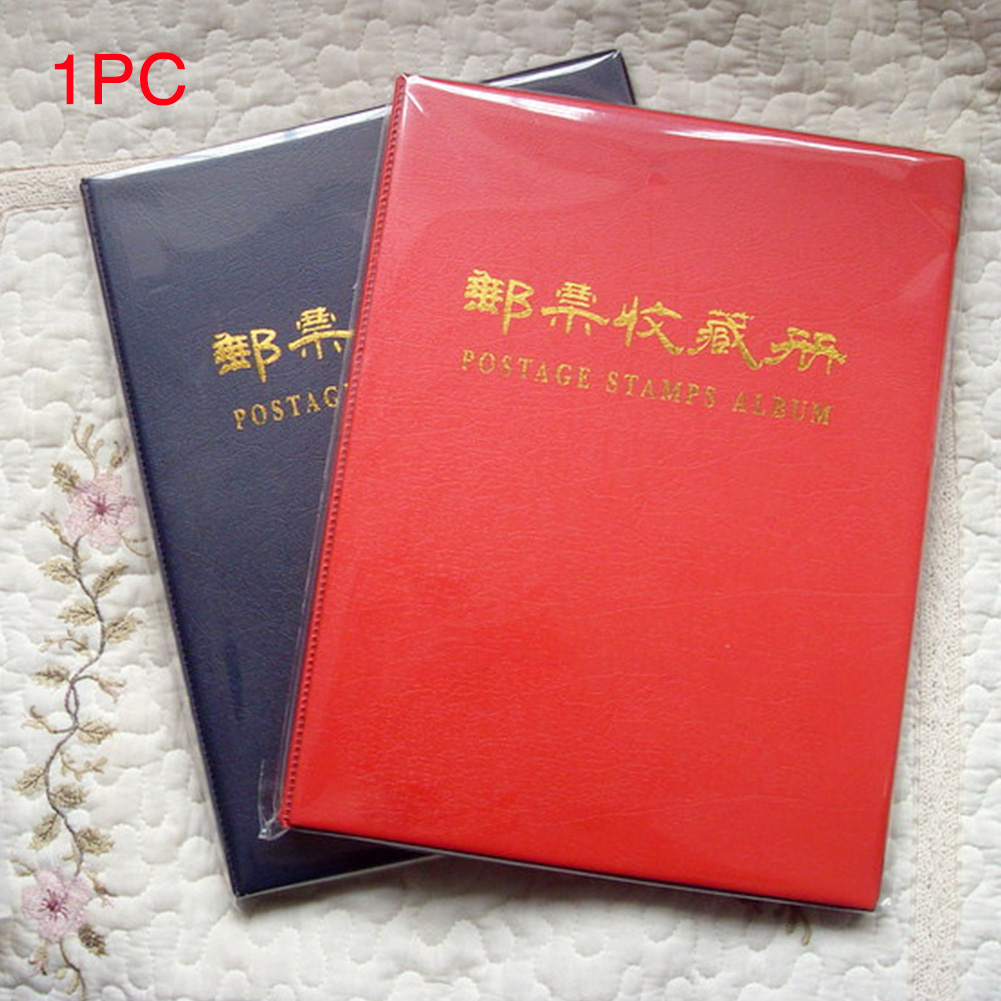 Postage Stamps Album Accessories Collection Book Photo Money 5 Lines Storage Home PU Leather Tickets Paper Display Gift image