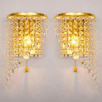 Hot selling Individual Wall Lamp Hotel Room Bedside Led Mirror Front Wall Light Up Down Wholesale of Crystal Lamps - DISCOUNT ITEM  15% OFF All Category