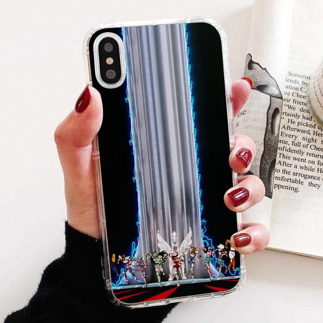 For iPhone 11 Pro 4 4S 5 5S SE 5C 6 6S 7 8 X 10 XR XS Plus Max For iPod Touch anime Aries Mu Sagitario Saint Seiya Soft Case