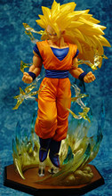 Son Goku Majin Buu Vegeta Trunks Super Saiyan 3 Freezer PVC Modelo Brinquedos Dragon Ball Z Figuras de Ação Estatueta Colecionável(China)